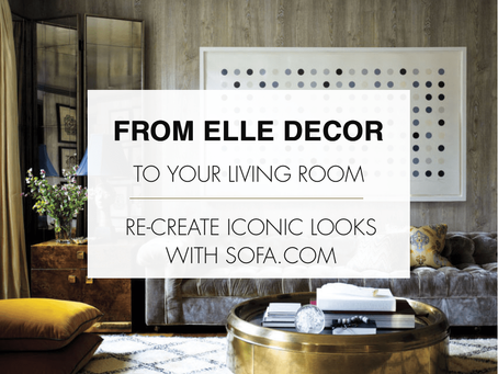 From ELLE Decor to your Living Room