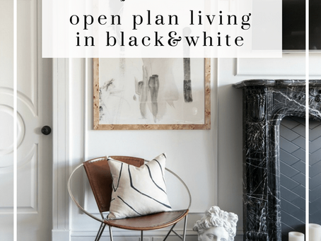 Parisian chic makeover in black and white
