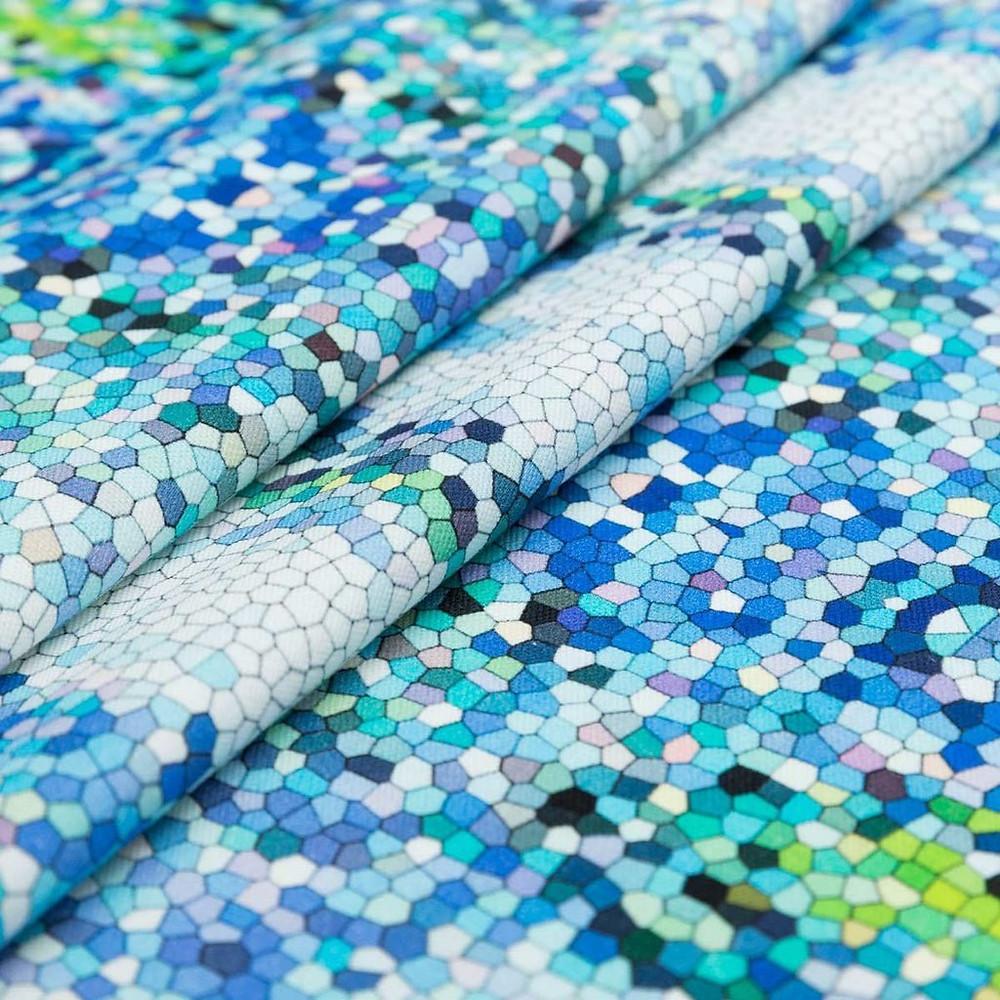 Splash fragment fabric, £85p/m by Penelope Hope