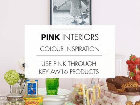 Pink interiors - explore your feminine side