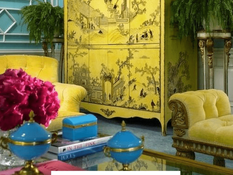 Living Room: The collector's home