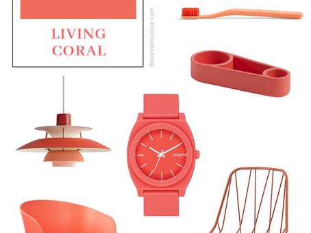 LIVING CORAL - How to use Pantone's Colour of the Year 2019