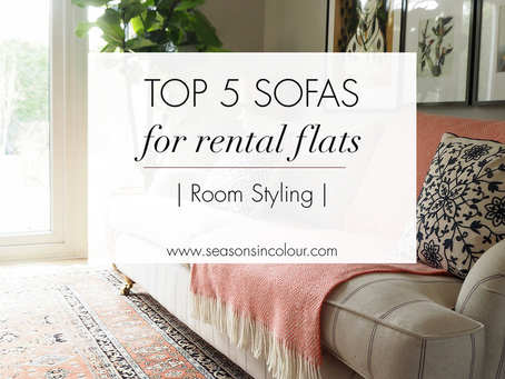 TOP 5 sofas for a rental flat
