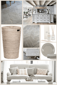 neutral palette mood board
