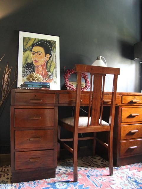 Room tour - Stunningly Restored desk