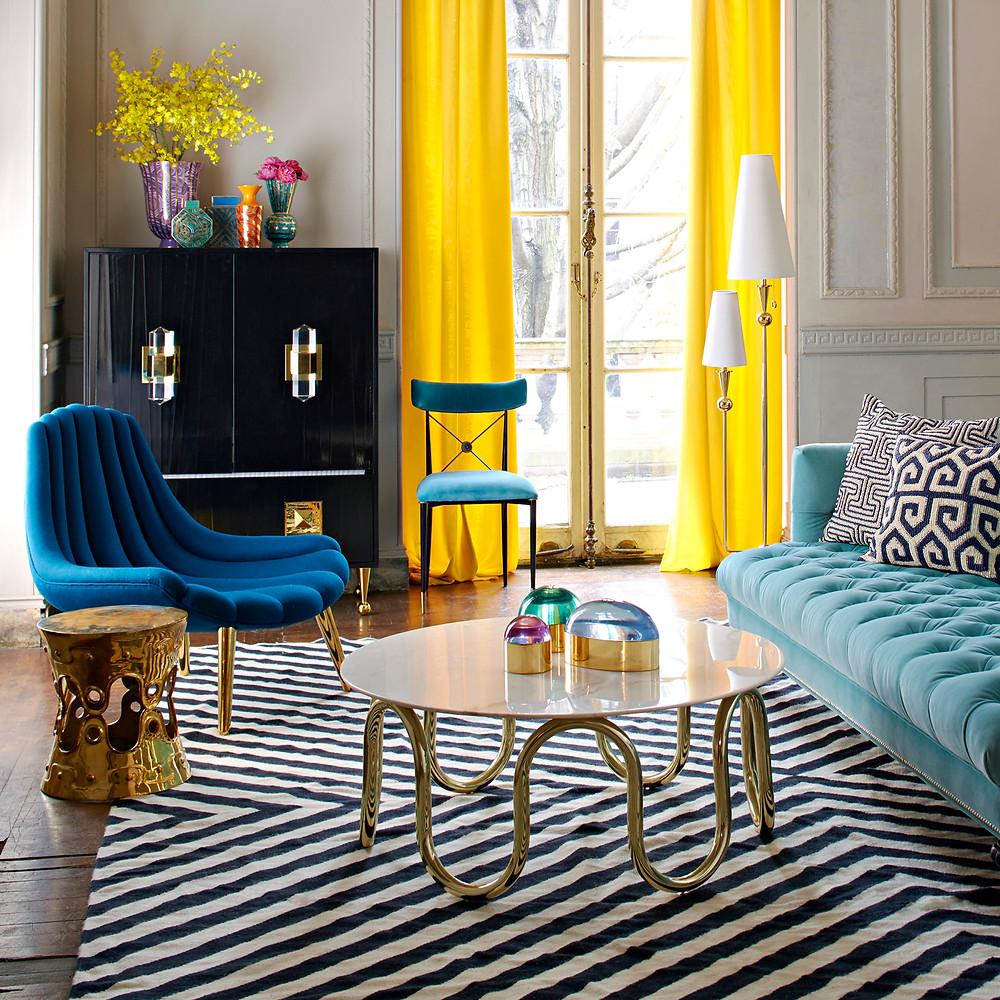 Jonathan Adler Interiors geometric design