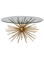 west elm Sputnik Coffee Table, Brass / G