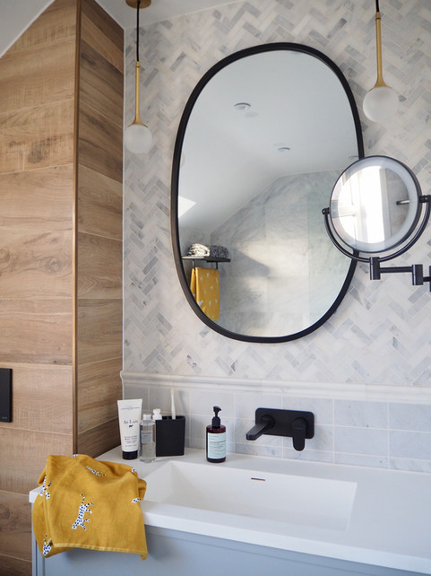 9 Interior Design Tricks to make your bathroom look bigger