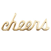 west elm Brass Cheers Object