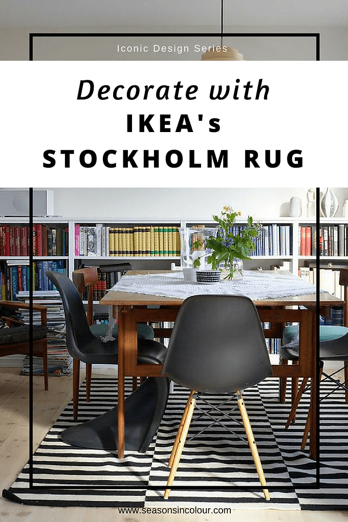 It Is Not Often That We See Rugs Taking Central Stage When Comes To Design But This Black And White Number By Ikea Has Graced The Floors Of Most