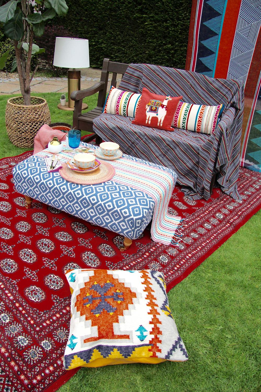Oriental carpet Bokhara Red
