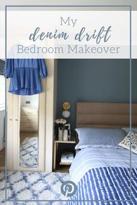 Dulux Denim Drift Bedroom