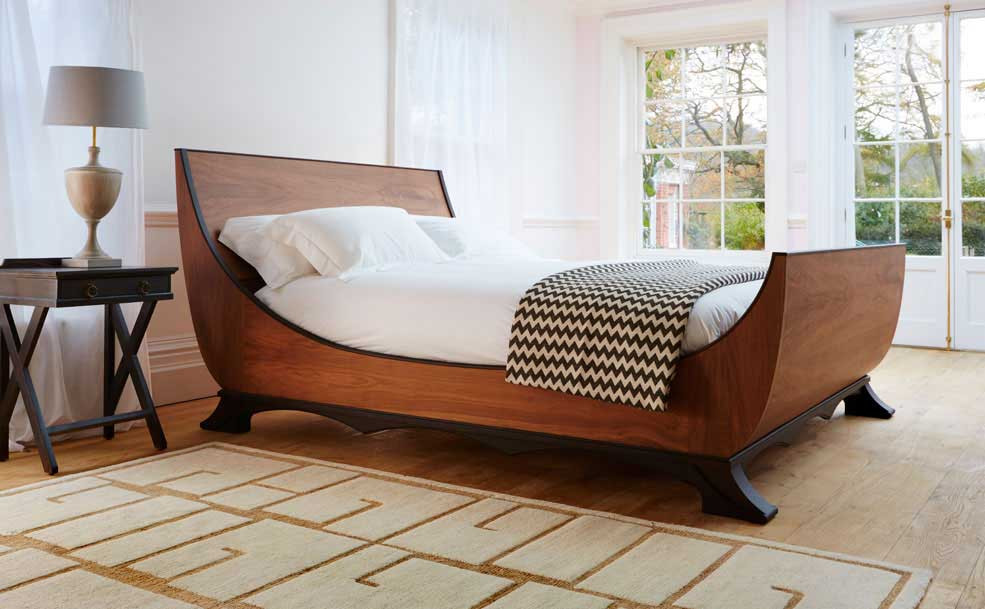 Luxury bed makers designer beds Simon Horn the Rialto BED