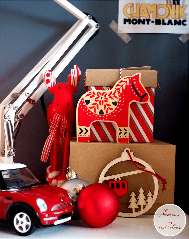 Junior Bedroom Christmas Styling Dulux Steel Symphony 1