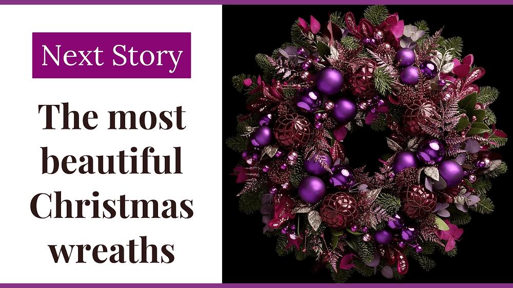 Beautiful Designer Christmas Wreaths