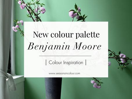New Colour Palette - Benjamin Moore