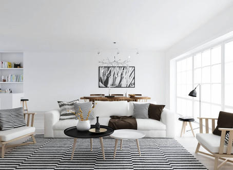Interior: Scandinavian style on a budget  via Style at Home