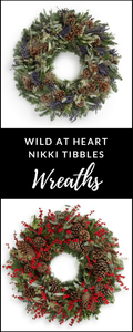 Nikki Tibbles Wild at Heart Red Berry wreath