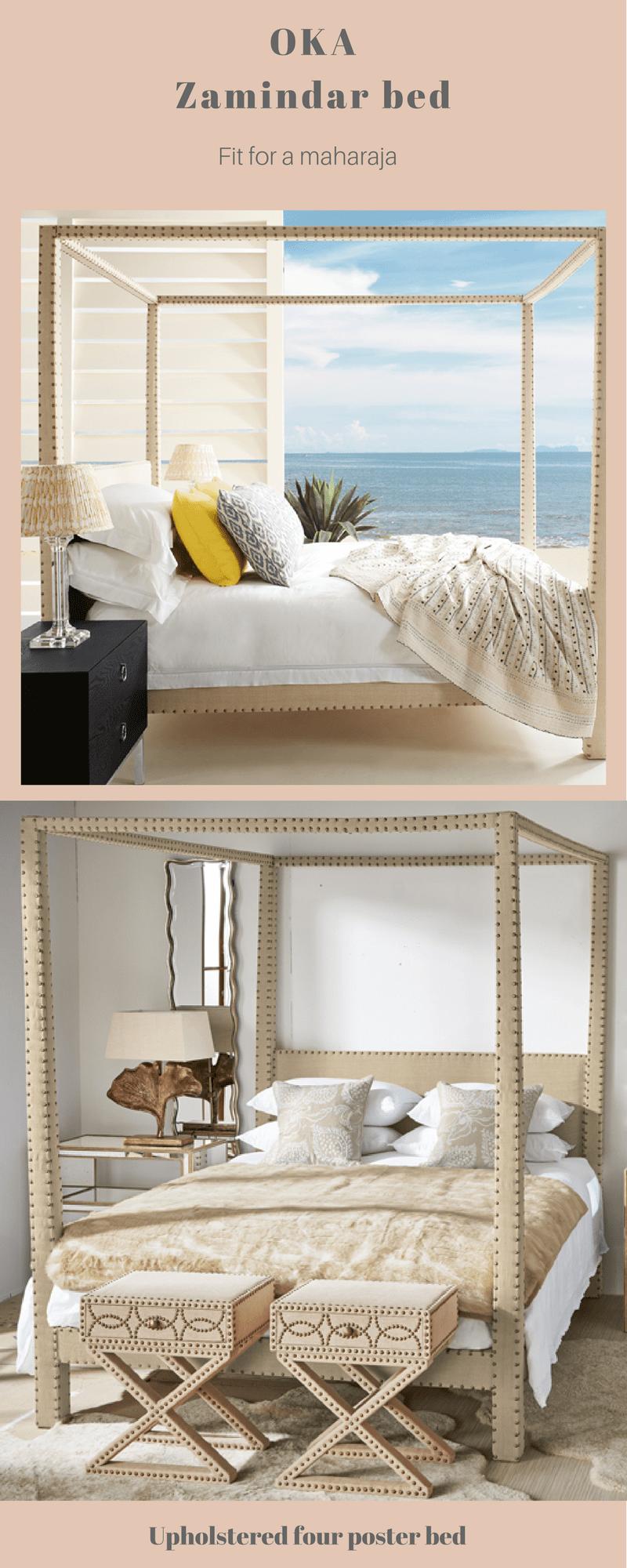 Luxury bed makers designer beds IKA Zamindar bed
