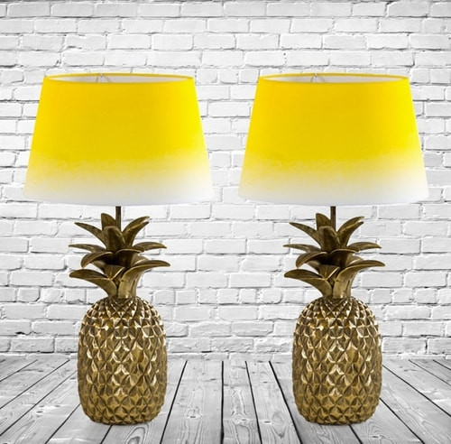 Botanical trend lamps