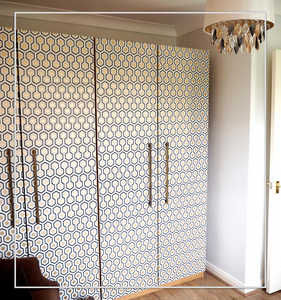 CHIC IKEA hack - Wardrobe makeover