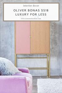 SS18 decor ideas from Oliver Bonas