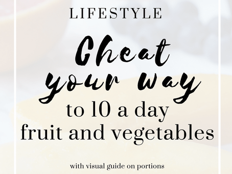 Cheat you way to 10-a-day fruit and vegetable