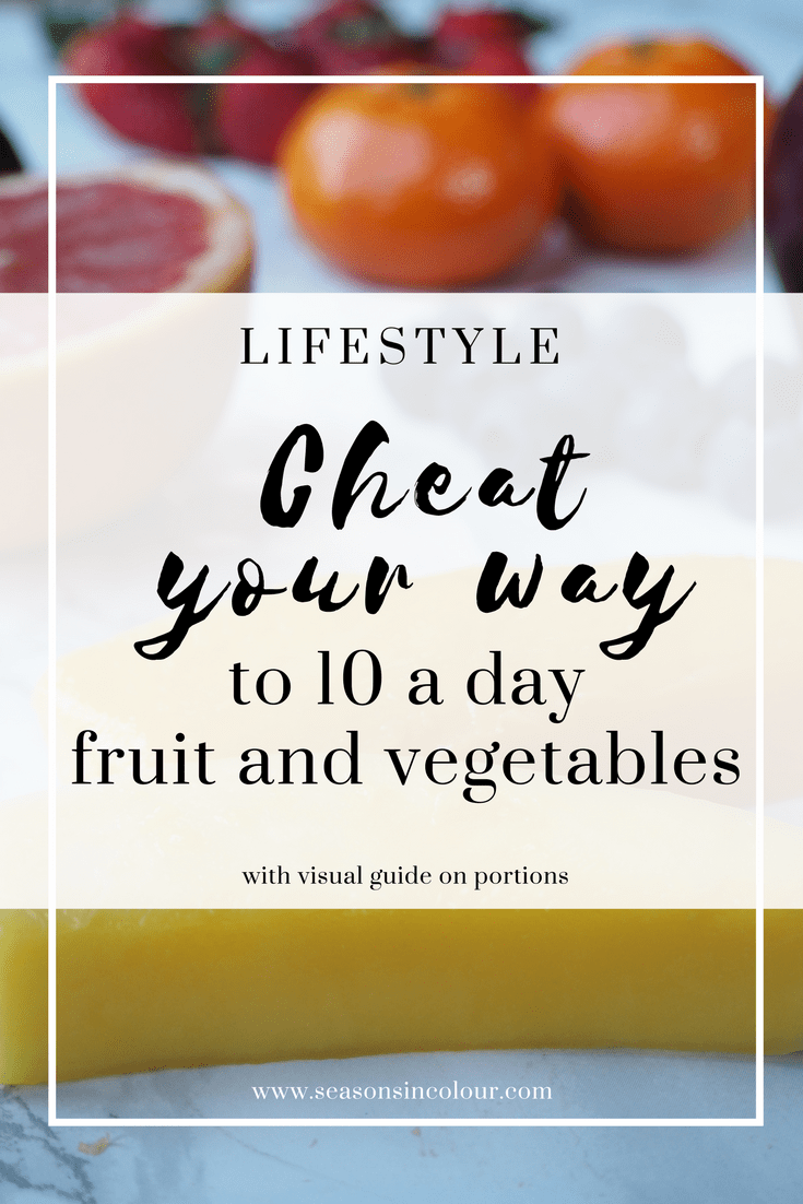 health 10 a day fruit and vegetables