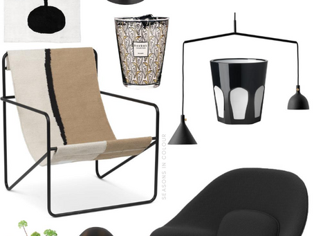 Seasons Wishlist - Interiors Products pink and black