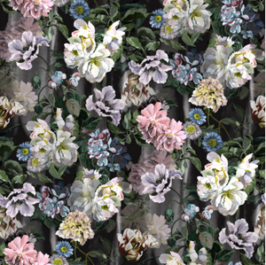 Delft Flower Designer's Guild wallpaper floral - 15 best floral wallpapers for a moody look - how to decorate your interiors with moody floral wallpaper