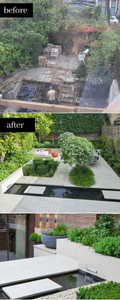 contemporary urban garden design, London top 10 garden designers