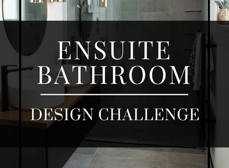 Design challenge - Ensuite Bathroom