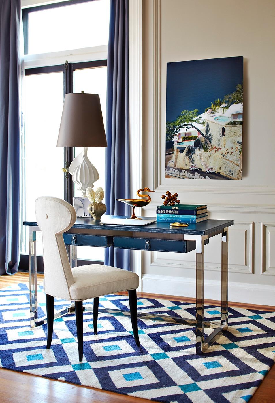 Jonathan Adler interior design geometric