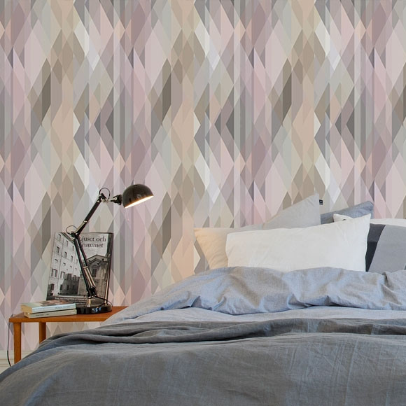 Cole & Son Prism wallpaper pastel