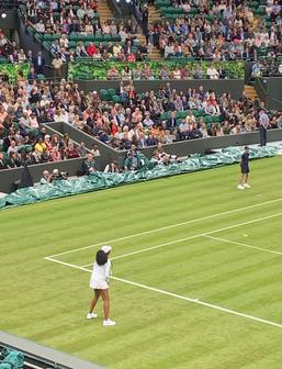 Venus Williams - Wimbledn Centre Court