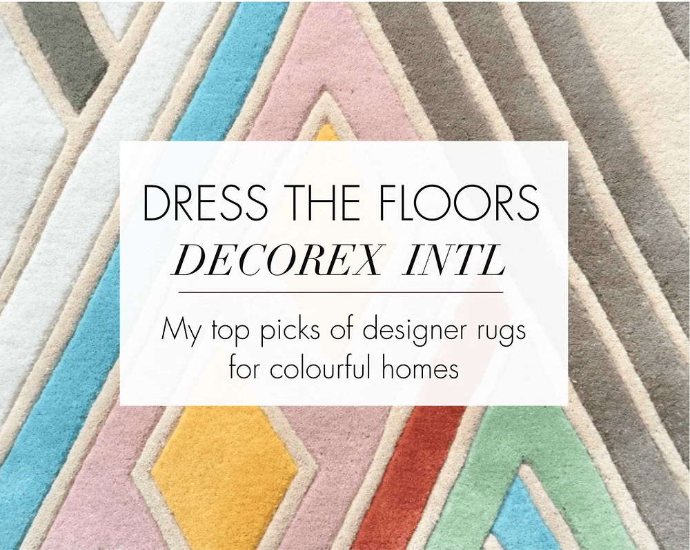 Designer Rugs My Top Picks For Aw16