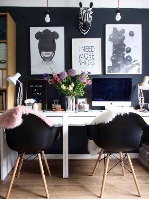 Fashion inspired office decor ideas