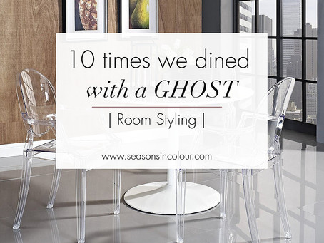 10 times we dined with a Ghost