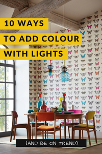 how to add colour in a scheme with lights