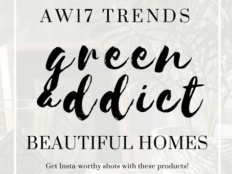 Green interiors is the latest Instagram trend