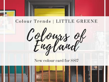 Colour Chart update from Little Greene