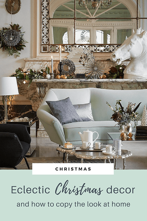 Eclectic Christmas Decorations