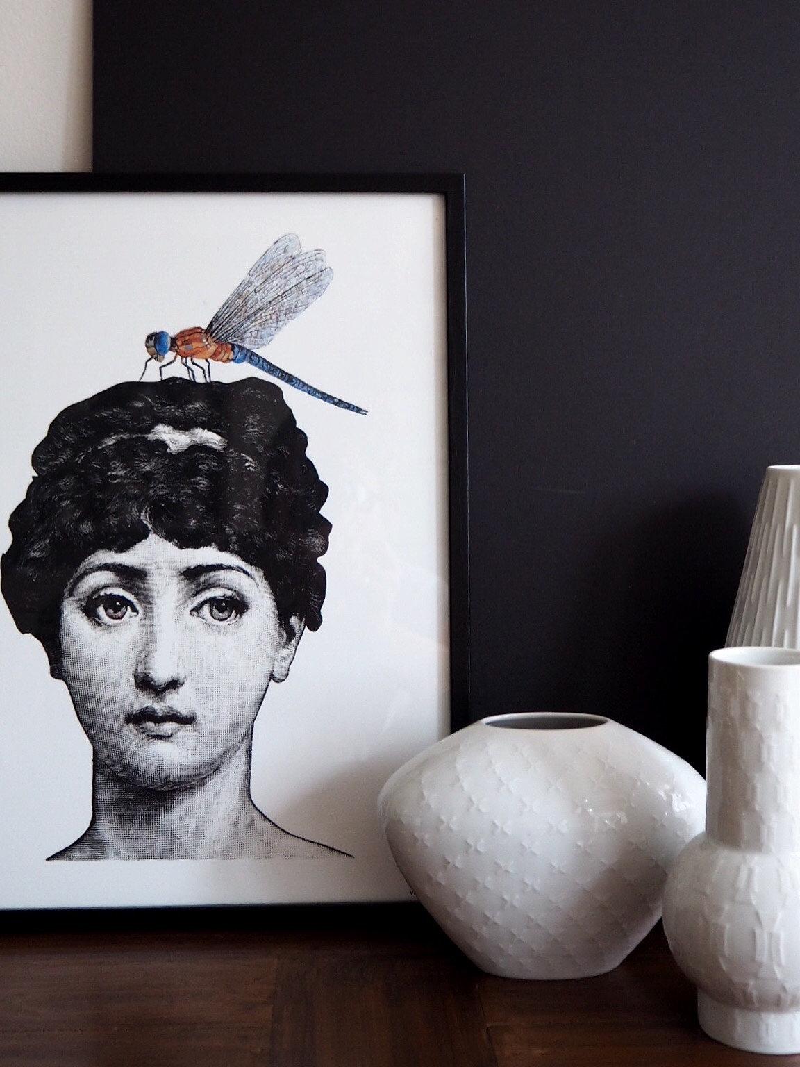 Fornasetti Art Prints Luxflea Fornasetti Print By Vanilla Fly