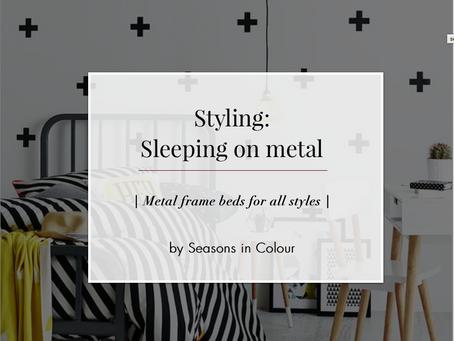 Sleeping on metal
