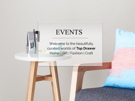January events - Top Drawer