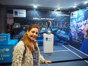 Επίσκεψη στο ATP NITTO WORLD TOUR, O2 Λονδίνο