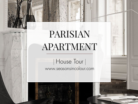 Modern Parisian flat tour