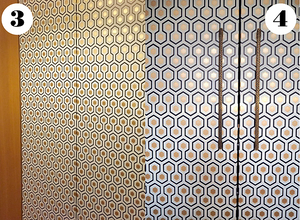 ikea pax wardrobe hack with wallpaper