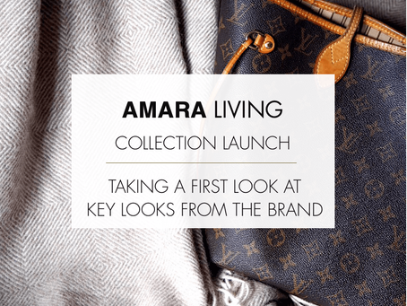AMARA LIVING - Collection Launch