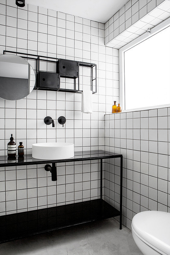 Why Black And White Bathrooms Are Always A Great Choice Seasons In